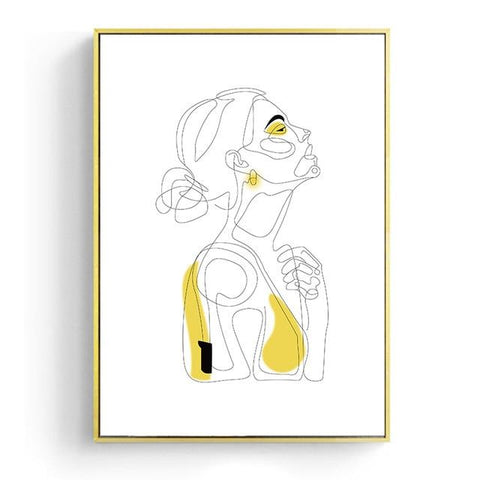 Abstract Line Drawing Prints | 21x30cm No Frame / Profile - Texuh Port. The Business, Brand & Influencer Store. FREE SHIPPING ON ALL ORDERS. Influencer Marketing, Influencer Tools, Business Tools, Business Marketing, Content Creator.