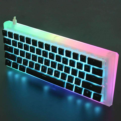 Acrylic Diamond 60% Keyboard | - Texuh Port. The Business, Brand & Influencer Store. FREE SHIPPING ON ALL ORDERS. Influencer Marketing, Influencer Tools, Business Tools, Business Marketing, Content Creator.