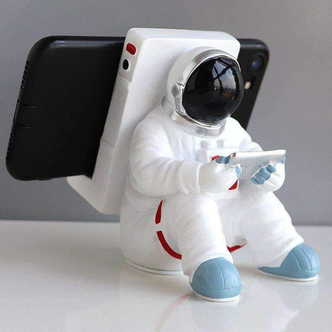 Astronaut Phone Holder |by Texuh Port | from 40.00 | Option   | Item Holders | Home & Garden |