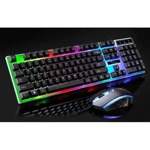Backlit RGB Gaming Set |by Texuh Port | from 41.55 | Color   | Gaming Keyboard, Gaming Mouse | Other |