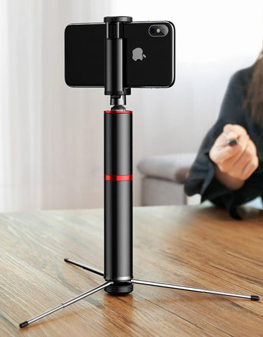 Baseus Bluetooth Selfie Stick | - Texuh Port. The Business, Brand & Influencer Store. FREE SHIPPING ON ALL ORDERS. Influencer Marketing, Influencer Tools, Business Tools, Business Marketing, Content Creator.