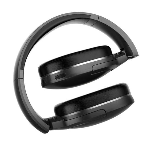 Baseus D02 Wireless Headphone | Black - Texuh Port. The Business, Brand & Influencer Store. FREE SHIPPING ON ALL ORDERS. Influencer Marketing, Influencer Tools, Business Tools, Business Marketing, Content Creator.