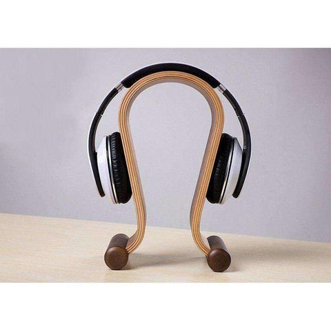 Bent Plywood Headphone Holder | - Texuh Port. The Business, Brand & Influencer Store. FREE SHIPPING ON ALL ORDERS. Influencer Marketing, Influencer Tools, Business Tools, Business Marketing, Content Creator.