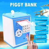 Bills and Coins Piggy Bank Safe | - Texuh Port. The Business, Brand & Influencer Store. FREE SHIPPING ON ALL ORDERS. Influencer Marketing, Influencer Tools, Business Tools, Business Marketing, Content Creator.