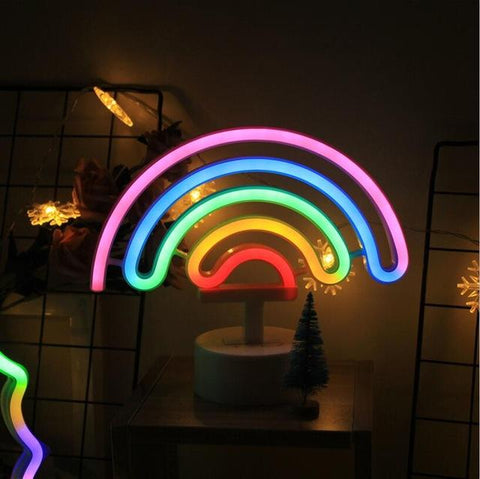 Desktop Neon LED Lamp | Rainbow - Texuh Port. The Business, Brand & Influencer Store. FREE SHIPPING ON ALL ORDERS. Influencer Marketing, Influencer Tools, Business Tools, Business Marketing, Content Creator.