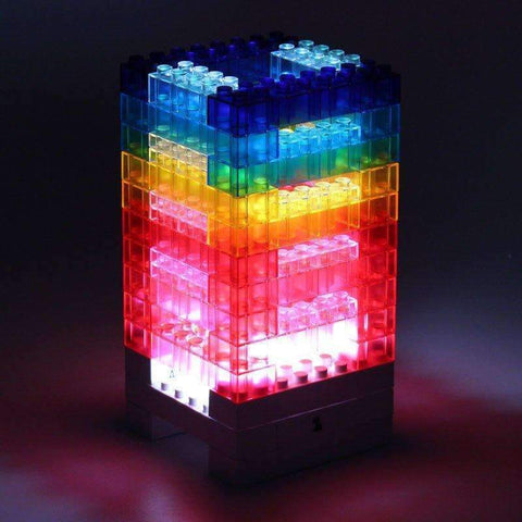 DIY Lego Lamp | - Texuh Port. The Business, Brand & Influencer Store. FREE SHIPPING ON ALL ORDERS. Influencer Marketing, Influencer Tools, Business Tools, Business Marketing, Content Creator.