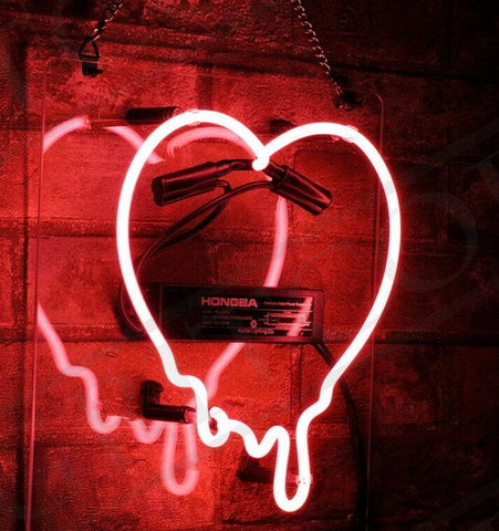 Dripping Heart Neon Light |by Texuh Port | from 101.50 | Wattage   | Ambience & Decor, Lighting |  |