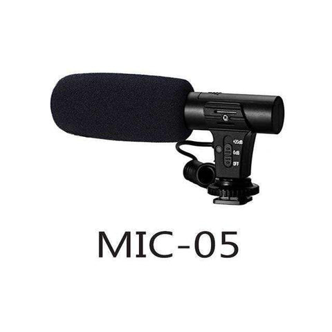 DSLR Hypercardioid Microphone | Default Title - Texuh Port. The Business, Brand & Influencer Store. FREE SHIPPING ON ALL ORDERS. Influencer Marketing, Influencer Tools, Business Tools, Business Marketing, Content Creator.