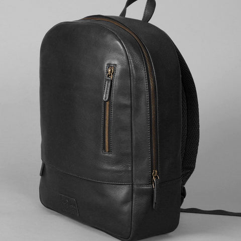 Fine Leather Backpack | Black - Texuh Port. The Business, Brand & Influencer Store. FREE SHIPPING ON ALL ORDERS. Influencer Marketing, Influencer Tools, Business Tools, Business Marketing, Content Creator.