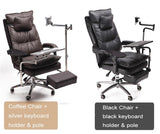 Reclining Isolated Workspace | black - Texuh Port. The Business, Brand & Influencer Store. FREE SHIPPING ON ALL ORDERS. Influencer Marketing, Influencer Tools, Business Tools, Business Marketing, Content Creator.