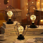 Minimalist Iron Fairy Bulb Lamps |by Texuh Port | from 16.20 | Lampshade Color Ships From  | Ambience & Decor, Lighting |  |
