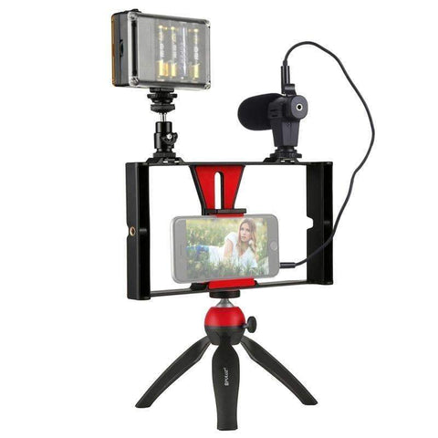 Mobile Phone Street Vlogging Set |by Texuh Port | from 26.62 | Color   | Item Holders, Lighting |  |