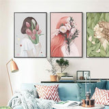 Nordic Canvas Painting Home | 3 pcs / 13x18cm / No - Texuh Port. The Business, Brand & Influencer Store. FREE SHIPPING ON ALL ORDERS. Influencer Marketing, Influencer Tools, Business Tools, Business Marketing, Content Creator.