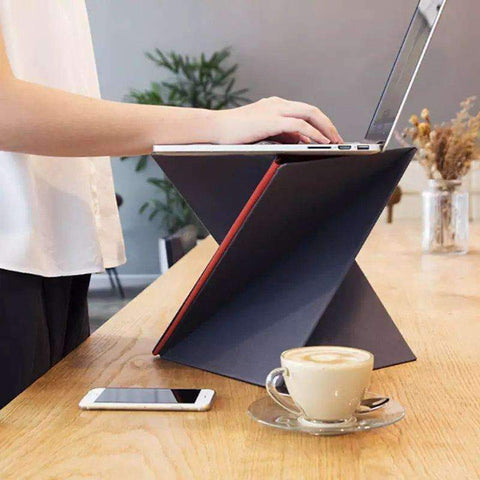 Origami Laptop Stand | - Texuh Port. The Business, Brand & Influencer Store. FREE SHIPPING ON ALL ORDERS. Influencer Marketing, Influencer Tools, Business Tools, Business Marketing, Content Creator.