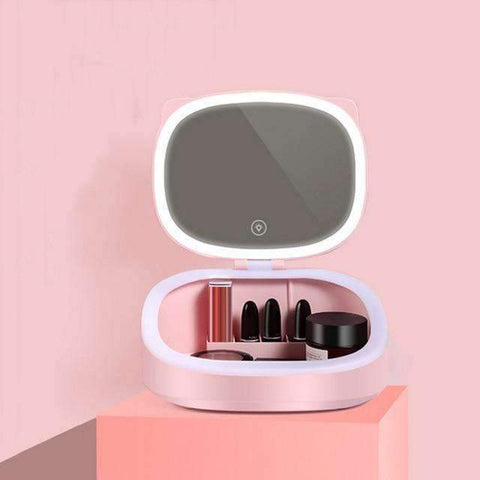 Portable Cosmetic Storage Kit | pink - Texuh Port. The Business, Brand & Influencer Store. FREE SHIPPING ON ALL ORDERS. Influencer Marketing, Influencer Tools, Business Tools, Business Marketing, Content Creator.