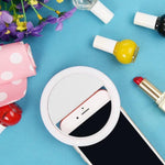 Portable Selfie Ring Light | Battery Powered / white - Texuh Port. The Business, Brand & Influencer Store. FREE SHIPPING ON ALL ORDERS. Influencer Marketing, Influencer Tools, Business Tools, Business Marketing, Content Creator.