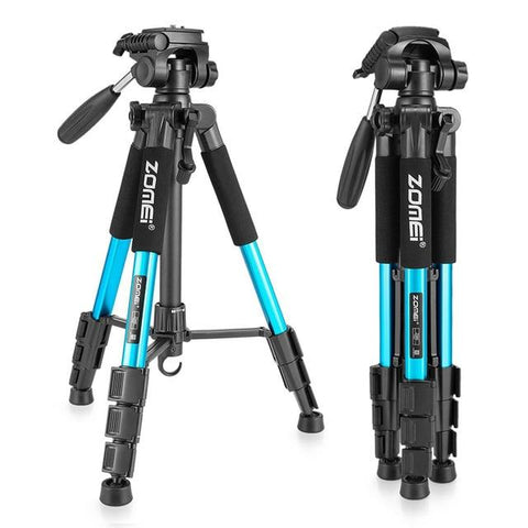 Professional Camera Tripod Stand | Blue - Texuh Port. The Business, Brand & Influencer Store. FREE SHIPPING ON ALL ORDERS. Influencer Marketing, Influencer Tools, Business Tools, Business Marketing, Content Creator.