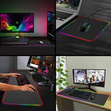 RGB Backlit Desk Mat | - Texuh Port. The Business, Brand & Influencer Store. FREE SHIPPING ON ALL ORDERS. Influencer Marketing, Influencer Tools, Business Tools, Business Marketing, Content Creator.