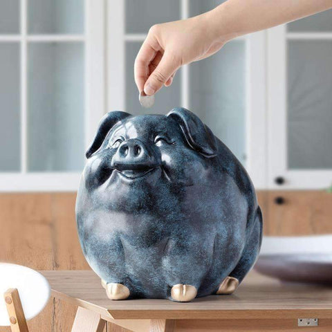 Smiling Pig Tip Jar | - Texuh Port. The Business, Brand & Influencer Store. FREE SHIPPING ON ALL ORDERS. Influencer Marketing, Influencer Tools, Business Tools, Business Marketing, Content Creator.