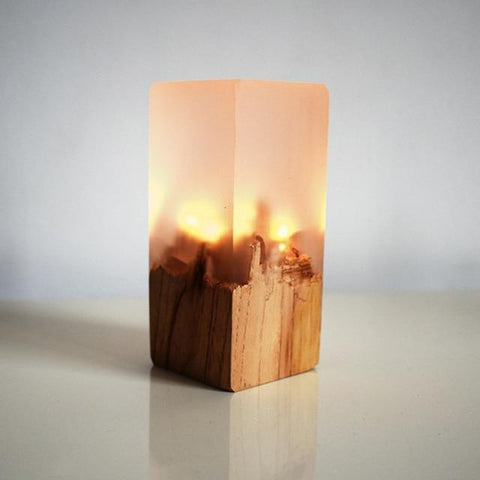 Solid Wood Resin Shade Nightlight | White - Texuh Port. The Business, Brand & Influencer Store. FREE SHIPPING ON ALL ORDERS. Influencer Marketing, Influencer Tools, Business Tools, Business Marketing, Content Creator.