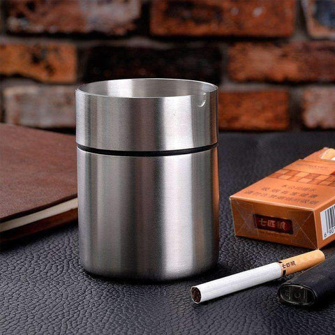 Stainless Steel Ashtray | - Texuh Port. The Business, Brand & Influencer Store. FREE SHIPPING ON ALL ORDERS. Influencer Marketing, Influencer Tools, Business Tools, Business Marketing, Content Creator.