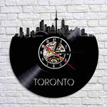 Toronto Cityscape Vinyl LED Clock | - Texuh Port. The Business, Brand & Influencer Store. FREE SHIPPING ON ALL ORDERS. Influencer Marketing, Influencer Tools, Business Tools, Business Marketing, Content Creator.