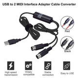 USB to 2 MIDI Interface Adapter Cable Converter | - Texuh Port. The Business, Brand & Influencer Store. FREE SHIPPING ON ALL ORDERS. Influencer Marketing, Influencer Tools, Business Tools, Business Marketing, Content Creator.