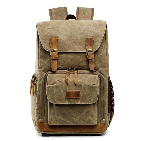 Waterproof Canvas Camera Backpack | Brown - Texuh Port. The Business, Brand & Influencer Store. FREE SHIPPING ON ALL ORDERS. Influencer Marketing, Influencer Tools, Business Tools, Business Marketing, Content Creator.