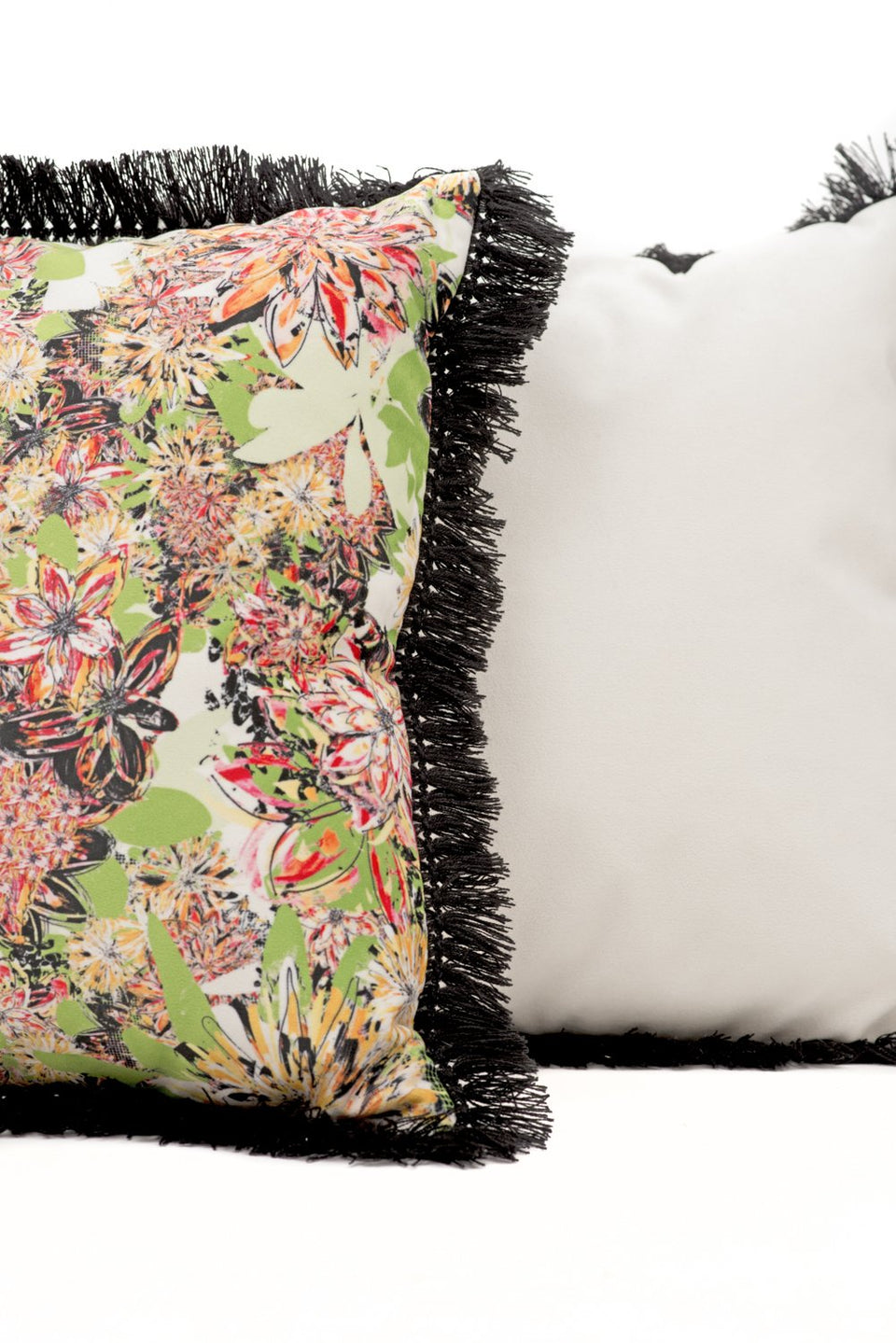 Cushion cover - Floral [assorted colours and sizes]