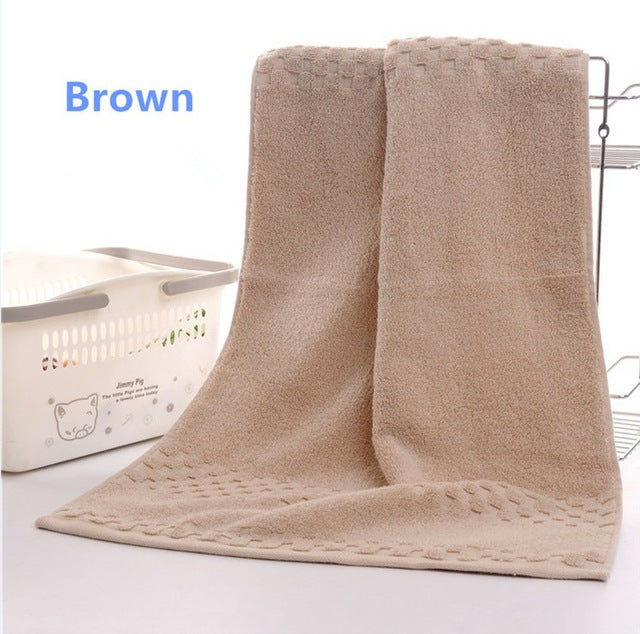 Luxury Geometric Egyptian Cotton Hand Towels