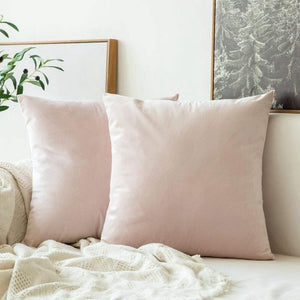 Soft pearl decorative velvet throw cushion covers