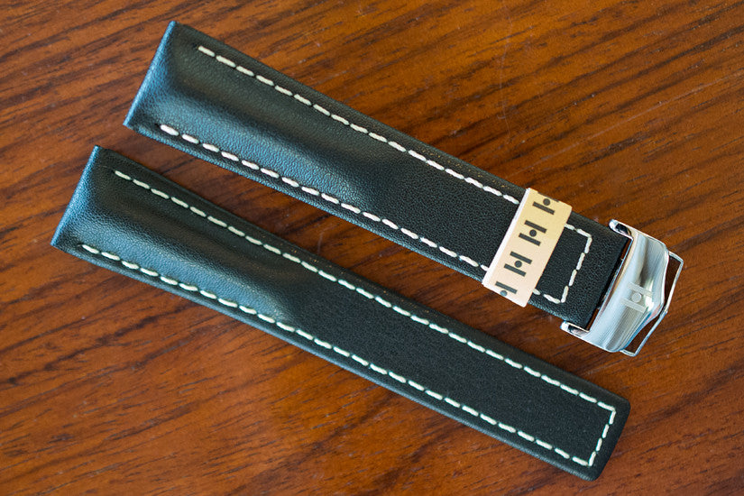 Closer Look: Hirsch Navigator Deployment strap for Breitling