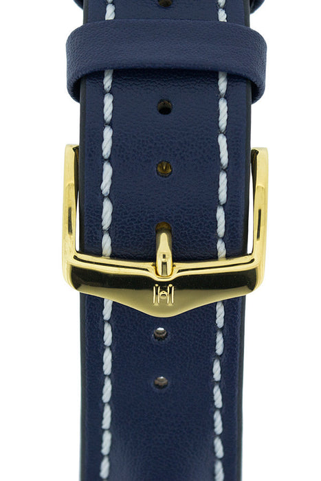 Hirsch HCB gold buckle on strap