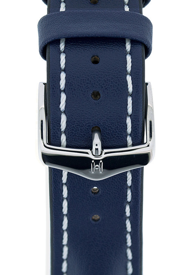 Hirsch HCB silver buckle on strap