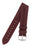Hirsch DUKE Alligator Embossed Leather Watch Strap in BURGUNDY