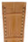 Hirsch LONDON Matt Alligator Leather Watch Strap in HONEY