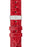 Hirsch GENUINE CROCO Shiny Crocodile Leather Watch Strap in RED