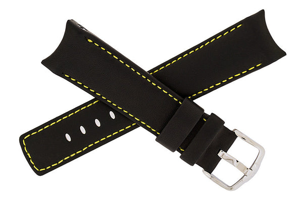 Hirsch Medici watch strap and buckle