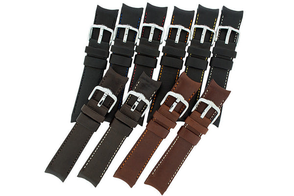 Group of Medici watch strap in a variety of available colours