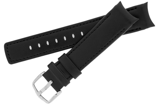 Hirsch Mobile Leonardo watch strap and buckle
