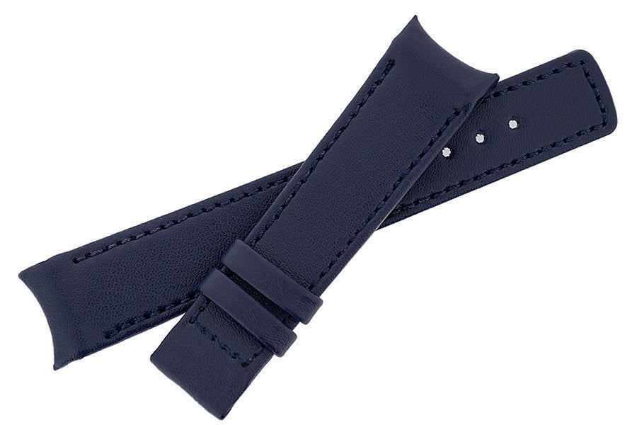 Hirsch OEM Heavy Calf curved ended watch strap