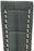 Hirsch NAVIGATOR Alligator Deployment Watch Strap in GREY