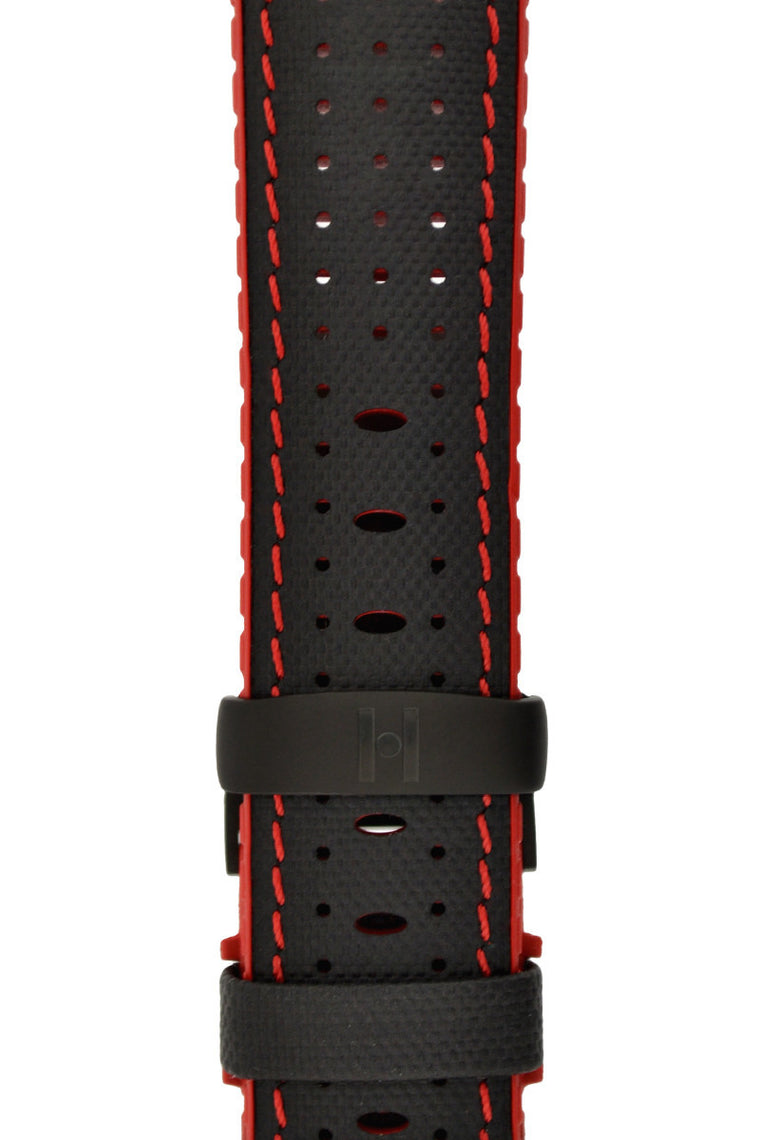 Hirsch Sport Deployment Clasp in BLACK