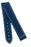 Hirsch VOYAGER Calfskin Deployment Watch Strap in BLUE/WHITE