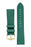 Hirsch OSIRIS Limited Edition Calf Leather with Nubuck Effect Watch Strap in GREEN