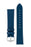 Hirsch TORONTO Fine-Grained Leather Watch Strap in BLUE