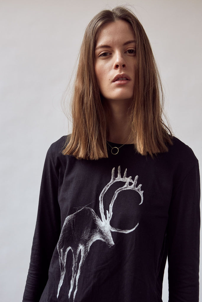 Shadow deer long sleeve