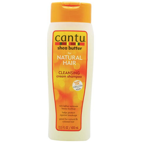 Cantu Shea Butter - Natural Hair Sulfate-Free Cleansing Cream Shampoo