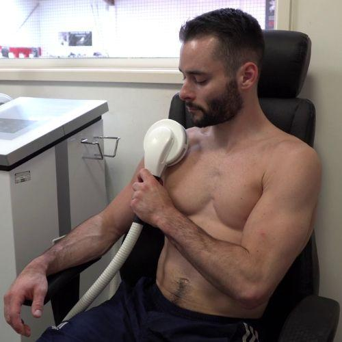 Senior Elite British Gymnast, James Hall, recommends high inductive therapy to achieve champion state