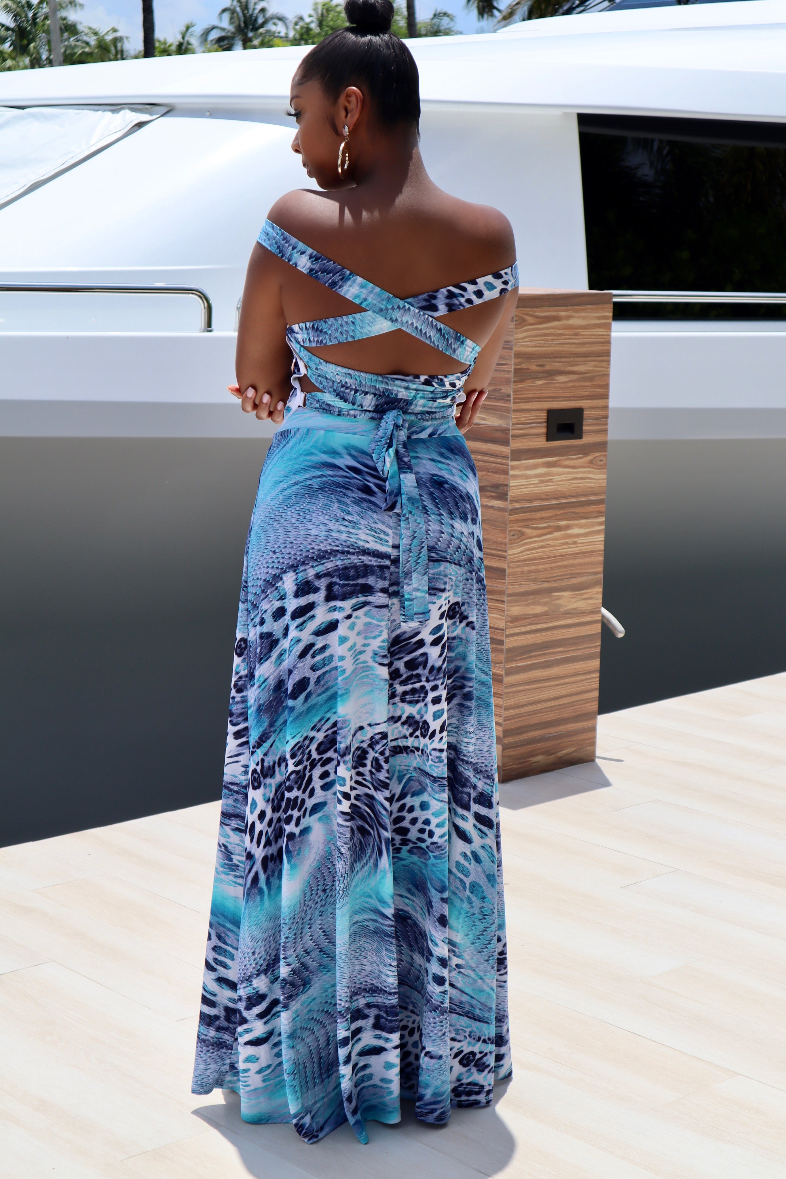 RIDE MY WAVE | MAXI DRESS